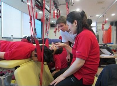 Fredrik Halvorsen podczas szkolenia Neurac 2 Stimula w Korei